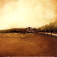 Rural Landscape I Fine Art Print