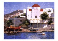 "Mykonos I by George Bates - 28"" x 20"""