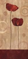 Pop Art Poppies I Fine Art Print