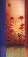 Painter's Garden II Framed Print