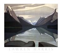 Maligne Lake, Jasper Park Fine Art Print