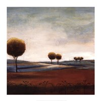 Tranquil Plains I Fine Art Print