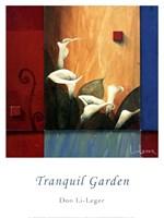"""Tranquil Garden by Don Li-Leger - 12"""" x 16"""""""