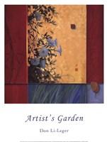 Artist's Garden Fine Art Print