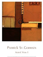 "Aerial View I by Patrick St. Germain - 12"" x 16"""