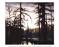 "Beaver Swamp by Lawren P. Harris - 12"" x 10"""