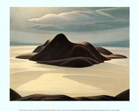 "Pic Island by Lawren P. Harris - 12"" x 10"""