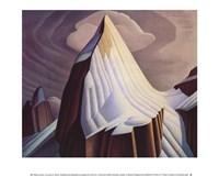 Mount Lefroy Framed Print