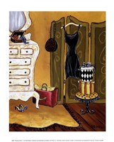 "Dressing Room I by Krista Sewell - 10"" x 12"""