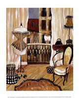 French Boudoir I Fine Art Print
