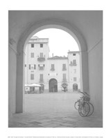 View Through the Archway II Fine Art Print