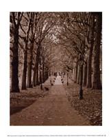 """Autumn Stroll II by Boyce Watt - 10"""" x 12"""""""
