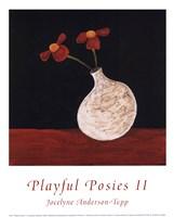 Playful Posies II Fine Art Print