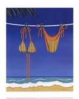 Beach Bound - Bikini Fine Art Print