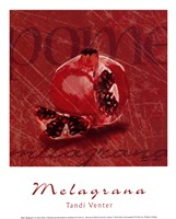 Melagrana Framed Print