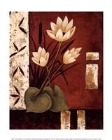 Lotus Silhouette II Fine Art Print