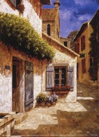 """Welcome to My House by Gilles Archambault - 5"""" x 7"""", FulcrumGallery.com brand"""