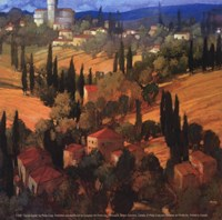 """Tuscan Castle by Philip Craig - 5"""" x 5"""""""