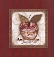 "Jonathan Apple by Carol Robinson - 9"" x 9"""