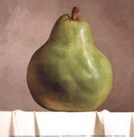 Green Pear Fine Art Print