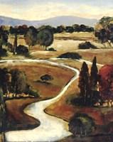 Winding Rivers Fine Art Print