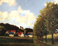 Little Farms Fine Art Print