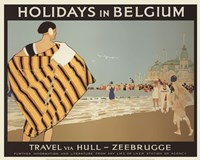Holidays In Belgium Fine Art Print