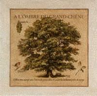 A L'Ombre Du Grand Chene Fine Art Print