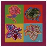 Happy Flowers Fine Art Print