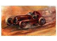 Le Mans 1935 Fine Art Print