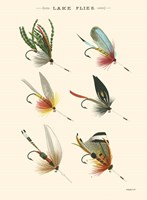Lake Flies I Fine Art Print