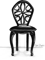 Designer Chair II Fine Art Print