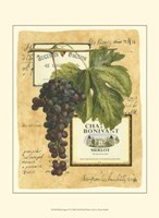 Small Red Grapes II Framed Print
