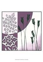 "Kimono Garden II by Megan Meagher - 13"" x 19"""