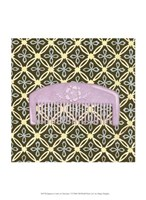 """Japanese Comb on Chocolate I by Megan Meagher - 10"""" x 13"""""""