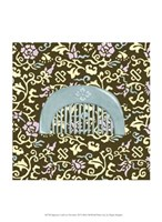 """Japanese Comb on Chocolate III by Megan Meagher - 10"""" x 13"""""""