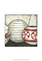 """New Year Lanterns II by Chariklia Zarris - 13"""" x 19"""""""