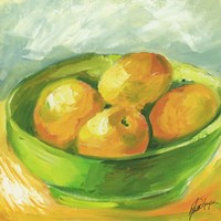 Bowl of Fruit I Fine Art Print