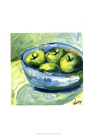 Bowl of Fruit II Framed Print