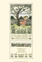 "Little Miss Muffet by Francis D. Bedford - 13"" x 19"" - $12.99"