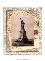 """Statue of Liberty by Vision Studio - 10"""" x 13"""""""