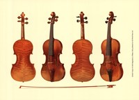 Antique Violins I Fine Art Print