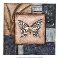 """Butterfly Montage I by Chariklia Zarris - 8"""" x 8"""" - $10.49"""