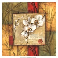 "Asian Orchid Montage I by Ethan Harper - 13"" x 13"""