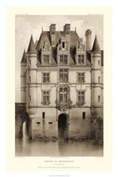 Sepia Chateaux V Giclee
