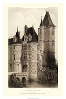 Sepia Chateaux VII Giclee