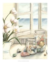 """Beach House View I by Megan Meagher - 18"""" x 22"""""""