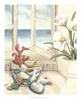 """Beach House View II by Megan Meagher - 18"""" x 22"""", FulcrumGallery.com brand"""
