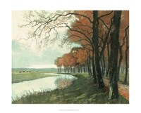 "Autumn Landscape II by Vision Studio - 36"" x 29"""