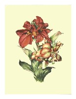 Lush Floral I Giclee